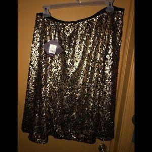 Women's Plus Size Sequin Skirt Size 3x